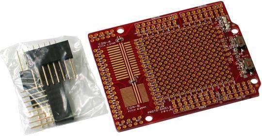 Proto Shield - Arduino prototyping shield - ladyadanet